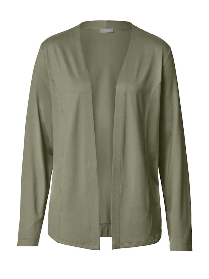 Tričkový kabátik s tvarujúcim šitím