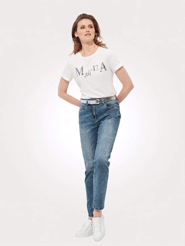 Shirt mit exklusivem Schriftzug