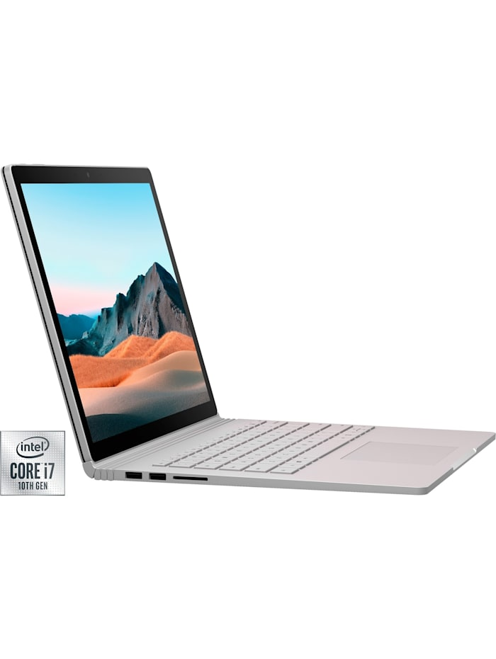 Microsoft Notebook Surface Book 3 Commercial-Variante (SMP-00005), Silber
