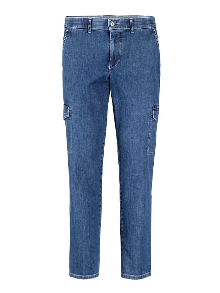 BABISTA Jeans med många praktiska fickor, Blå