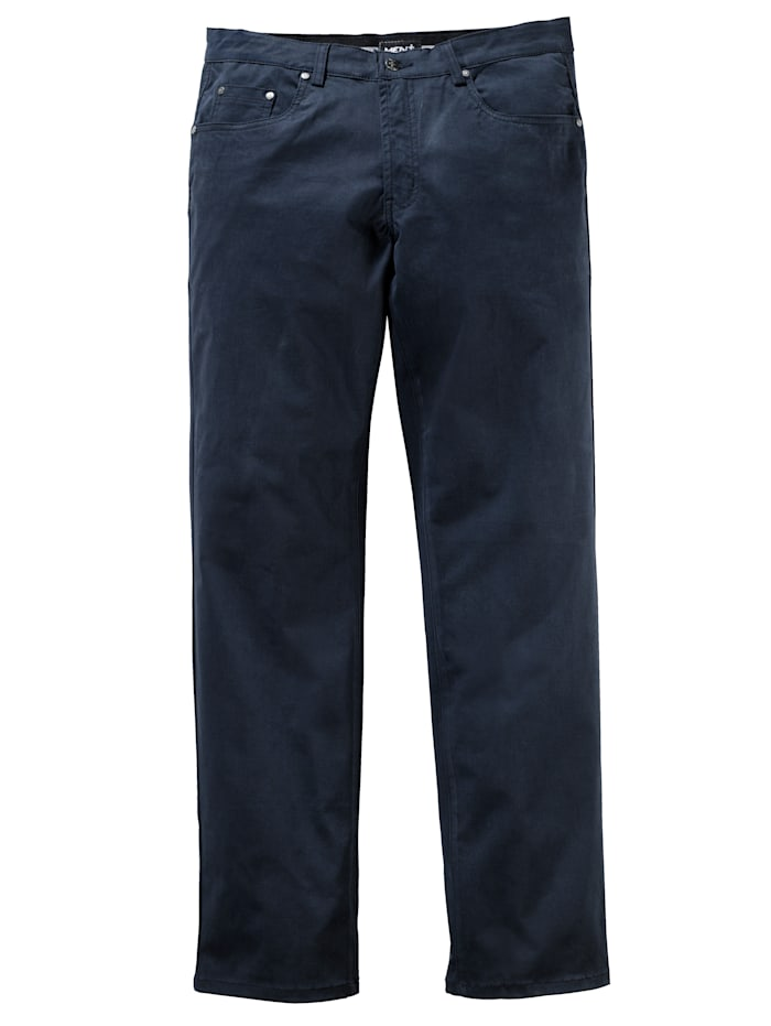 Men Plus Broek in speciaal model, Marine