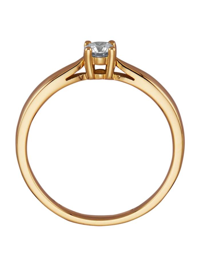 Ring van 18 kt. goud