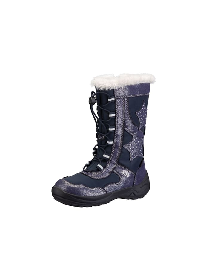 Lico Winterboot, marine/silber