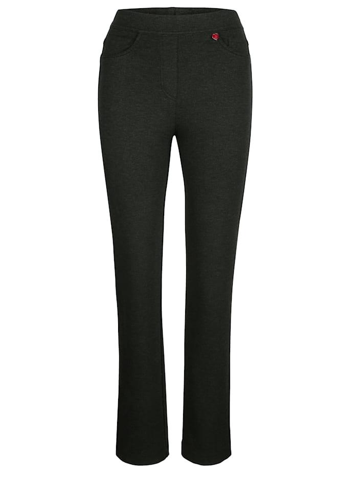Pantalon en jersey à ceinture extensible