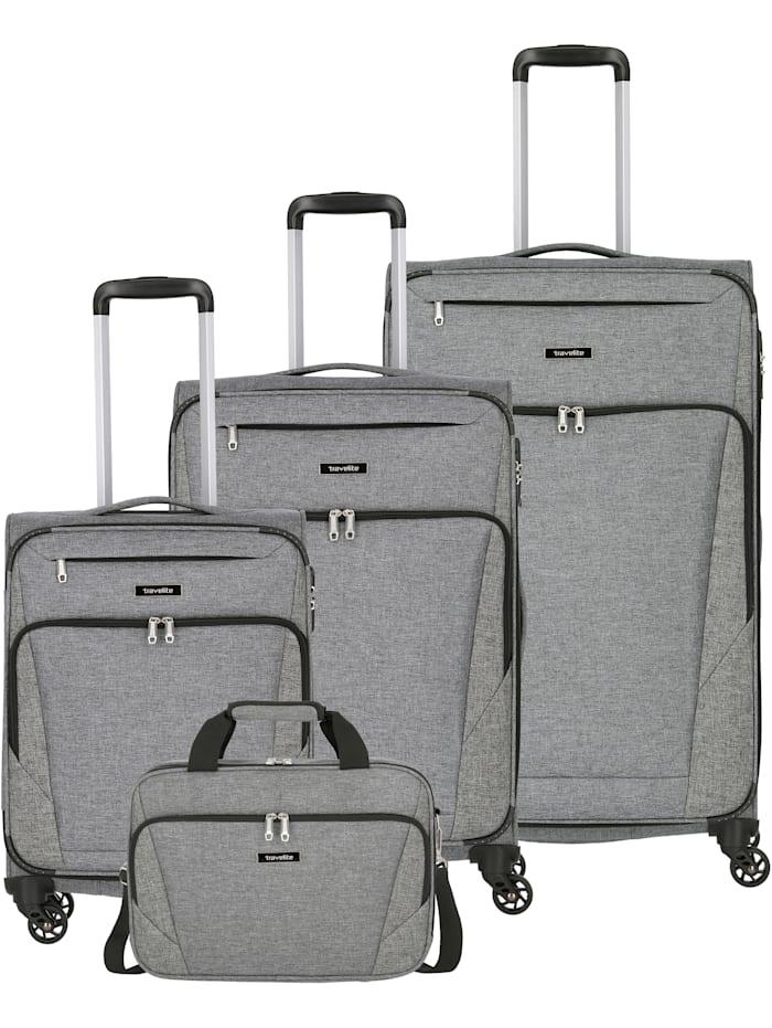 Travelite Jakku 4-Rollen Kofferset 4tlg. 4-teilig, anthrazit