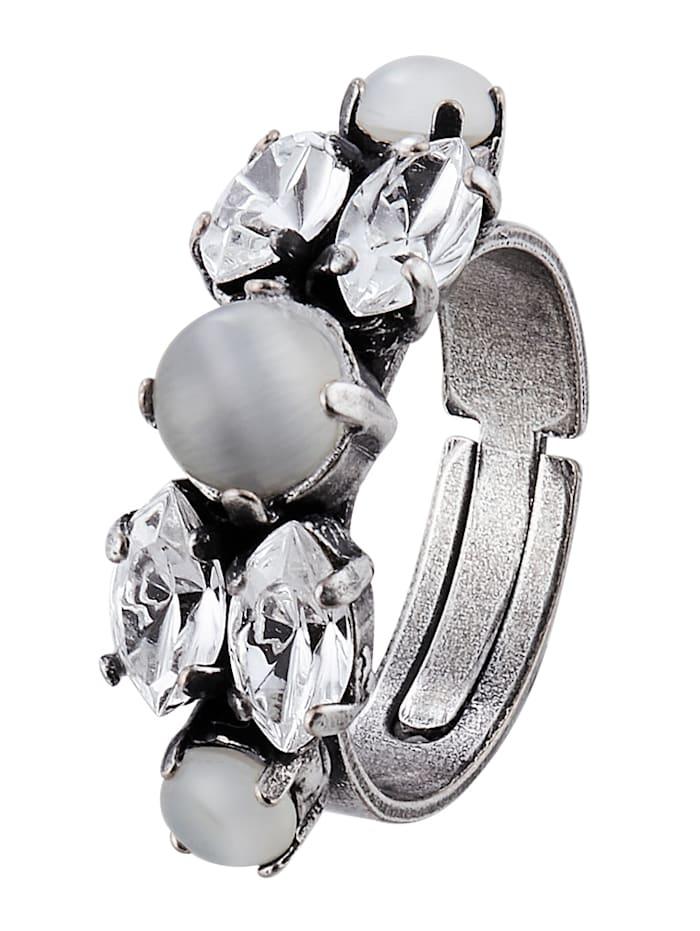 Amaro Ring, Silberfarben