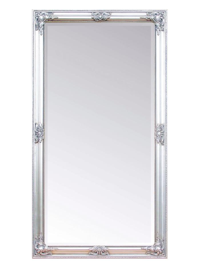 Wandspiegel Fleur, Silber