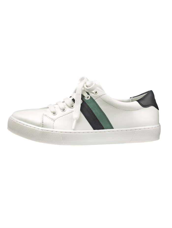 Sneaker met trendy strepen