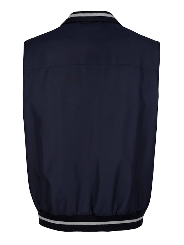Bodywarmer met praktische zakken