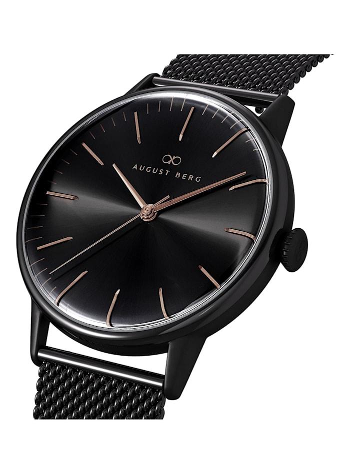 Uhr Serenity Noir Black Black Mesh 40mm
