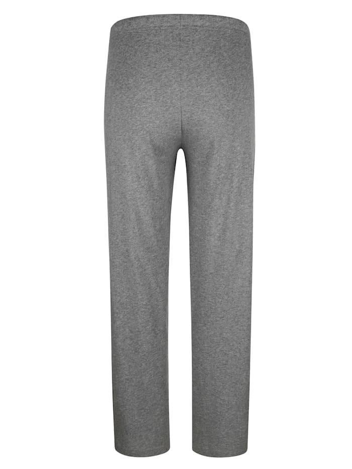 Pyjama met ingebreide strepen