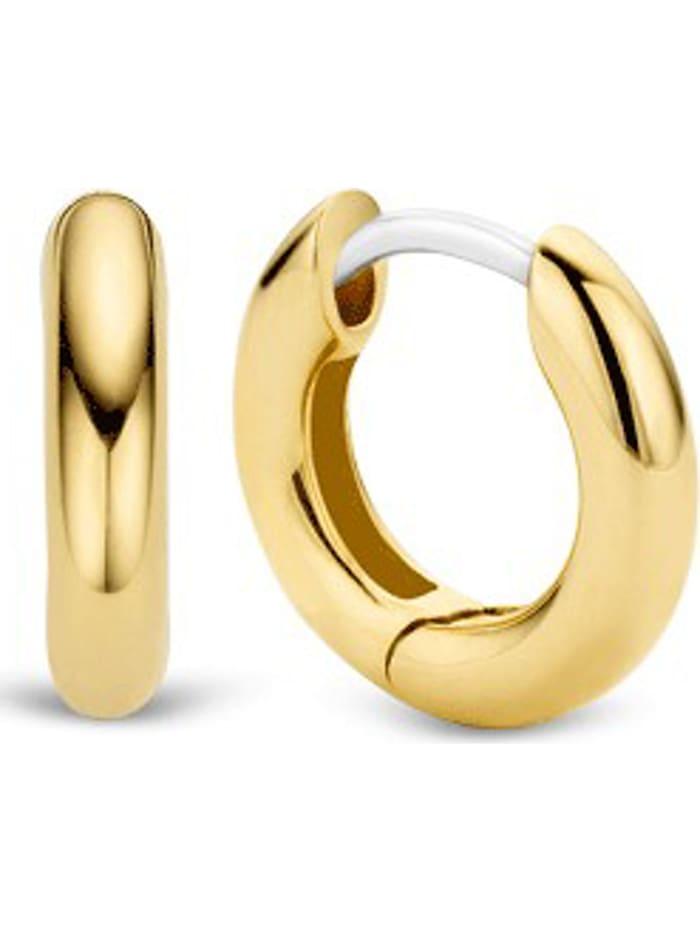 Ti Sento Milano Ti Sento - Milano Damen-Creolen 925er Silber, gelbgold