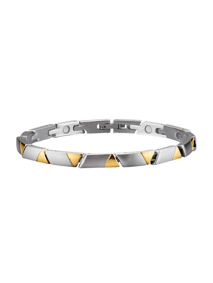 Magnetic Balance Bracelet, acier, Coloris argent