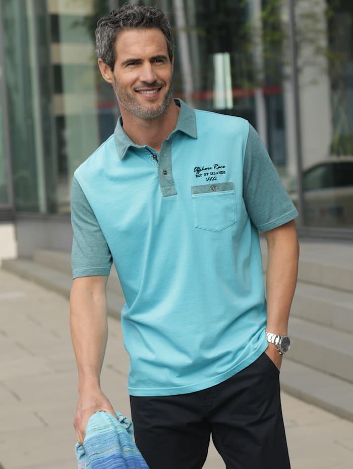 BABISTA Poloshirt in weicher Jersey Qualität, Türkis