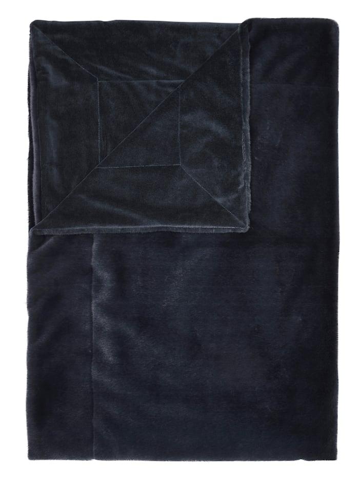 Essenza Plaid 'Furry', Blau