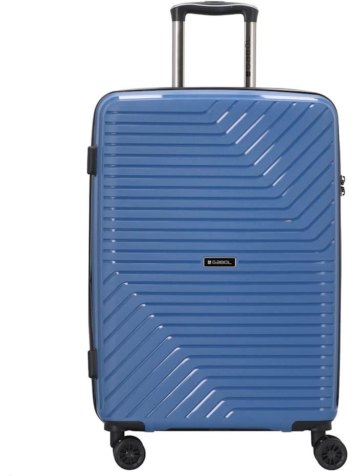 Gabol Osaka 4-Rollen Trolley 67 cm, blau