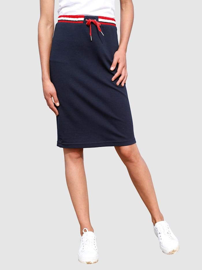 Dress In Jupe au look sport, Marine