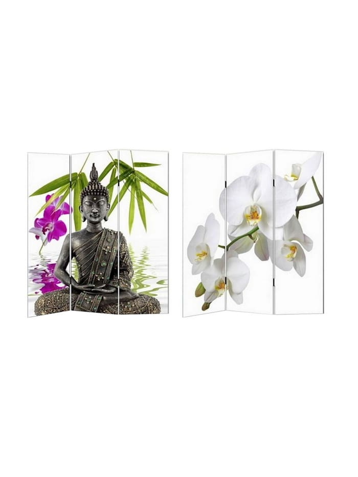 Paravent Buddha