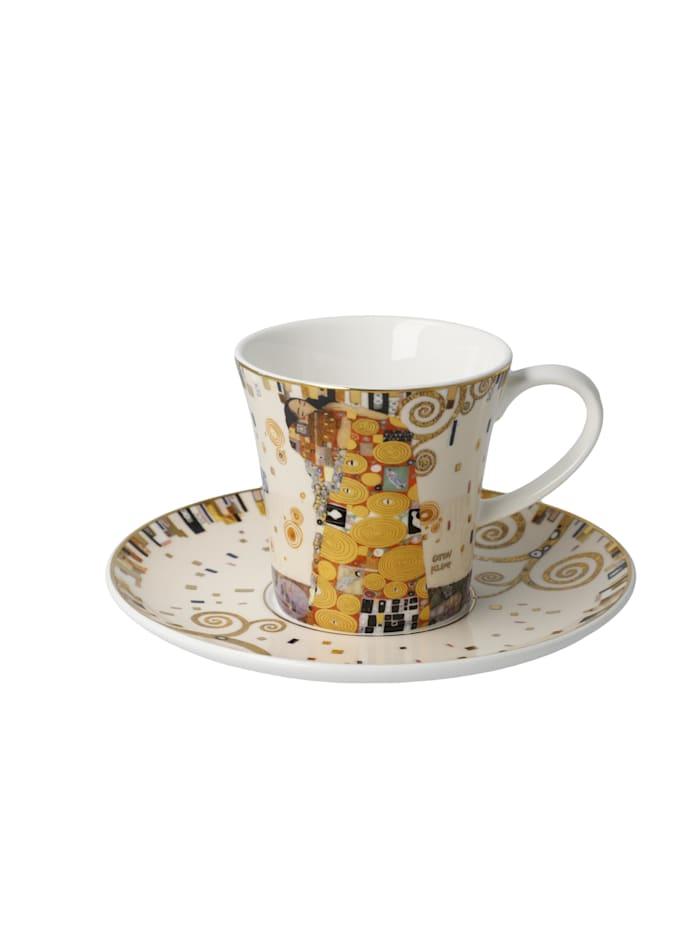 Goebel Goebel Kaffeetasse Gustav Klimt - Die Erfüllung, Klimt - Die Erfüllung