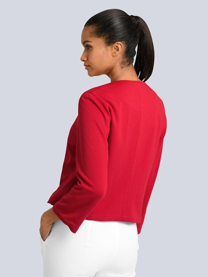Bolero-Blazer in aufregender Modefarbe