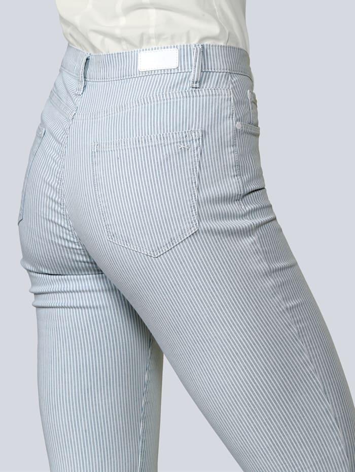 Jeans 'Mary' im Streifendessin