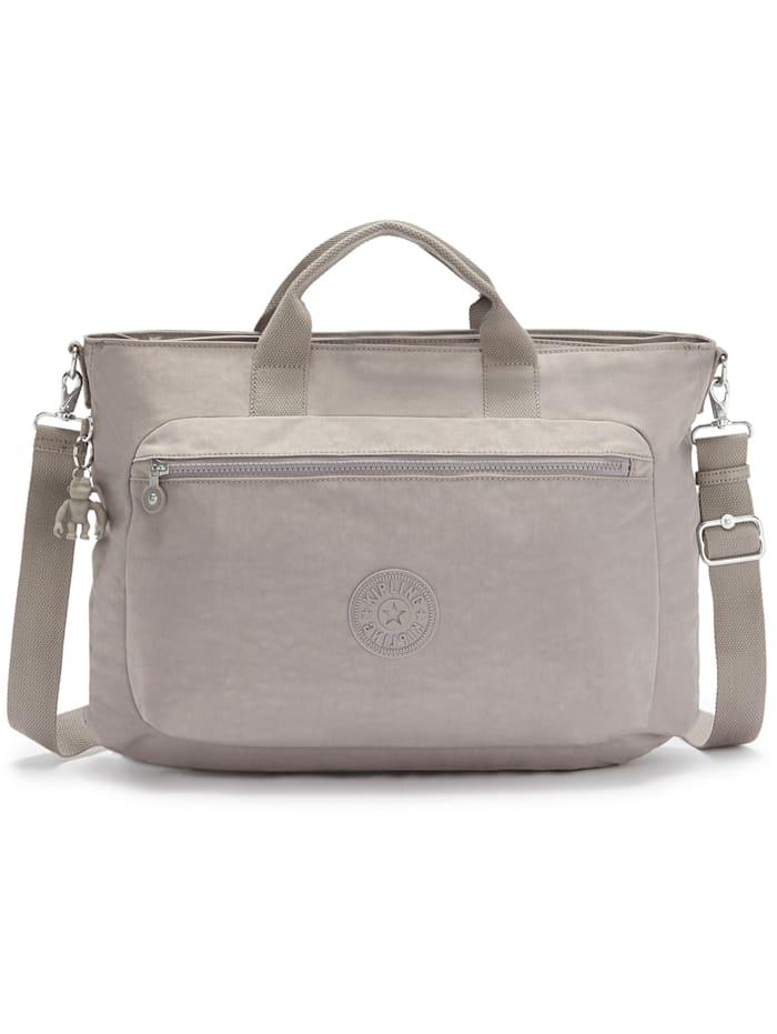 Kipling Basic Miho M Handtasche 40 cm Laptopfach, grey gris