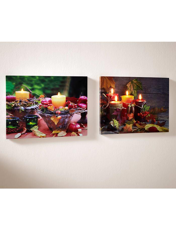 2er Set Wandbilder Herbst