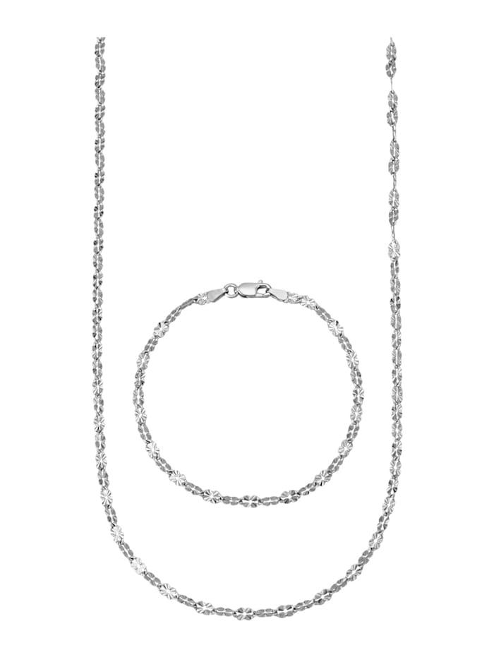 2tlg. Set in Silber 925, Silberfarben