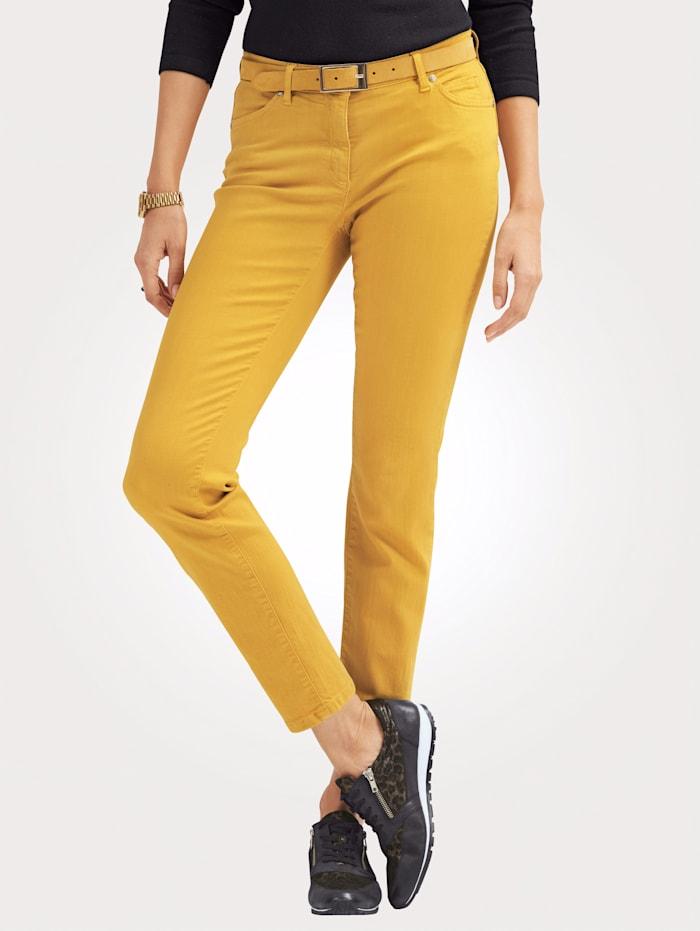Toni Jeans colored denim, Maisgelb