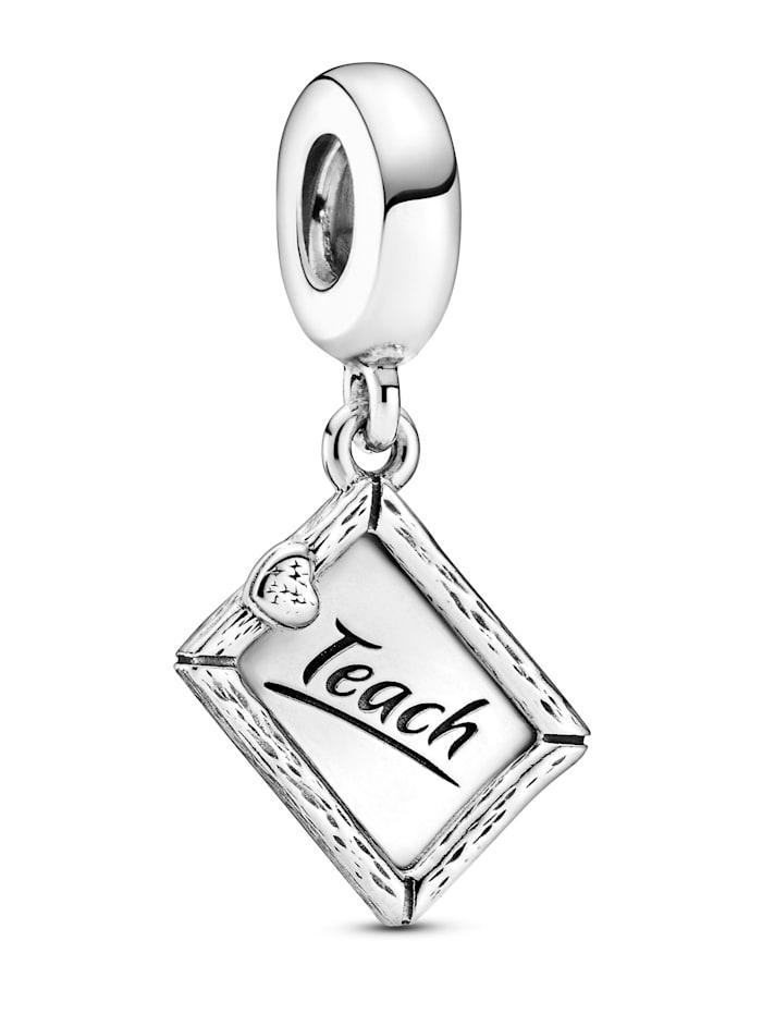 Pandora Charm-Anhänger - Kreidetafel - 799108C00, Silberfarben