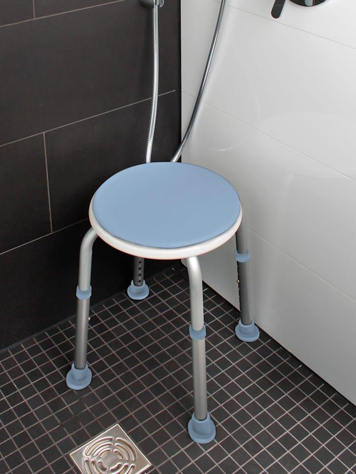 Tabouret de douche Assise pivotante