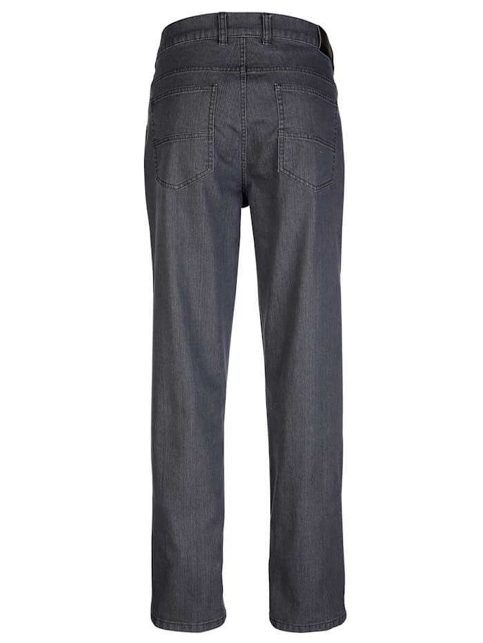 Jean 5 poches passants de ceinture