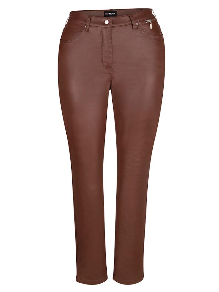 Pantalon avec enduction