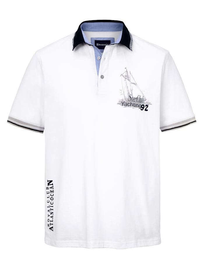 BABISTA Polo d'esprit marin, Blanc