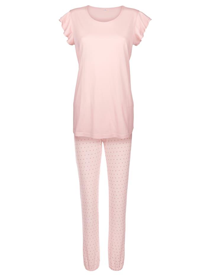 Schlafanzug mit süßem Katzen-Motiv
