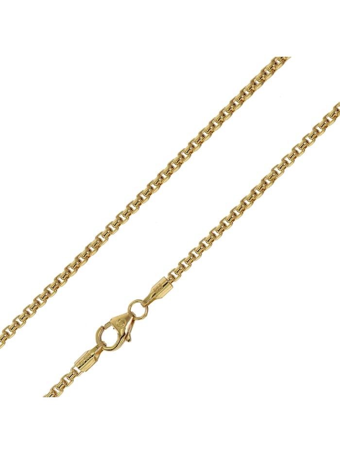 trendor Halskette für Anhänger 585 Gold 14 Karat Venezia Breite 2,0 mm, Goldfarben