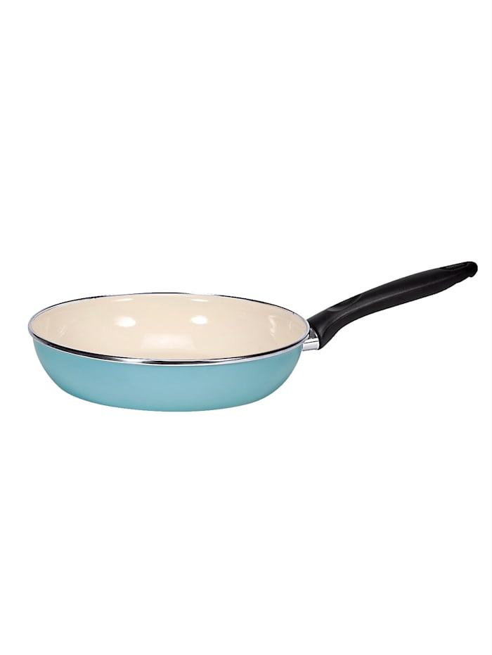 Krüger Poêle ronde Sylt/Juist, bleu/crème - Sylt