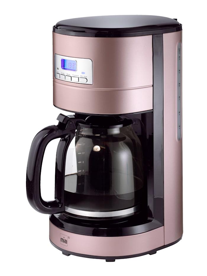 Retro Edelstahl-Kaffeemaschine KF 1743RG; rosé