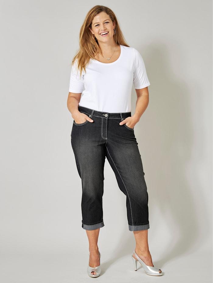 Dollywood Jeans AMY Straight Cut, Schwarz