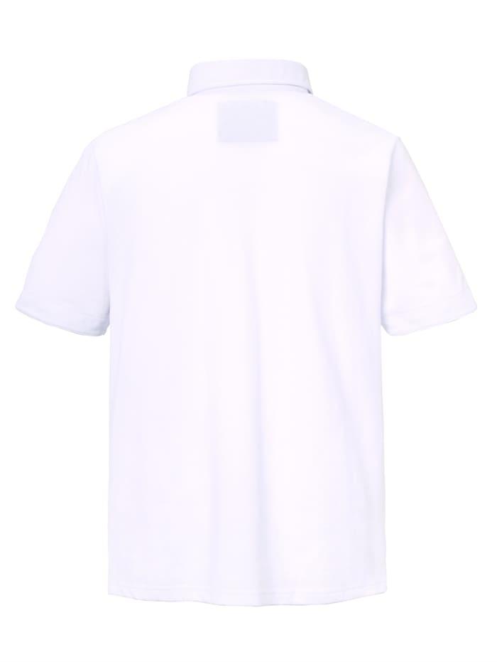 Poloshirt met bijzondere knoopsluiting