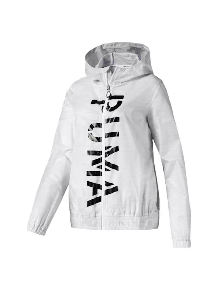 Puma Puma Jacke Be Bold Graphic Woven Jack, Weiß