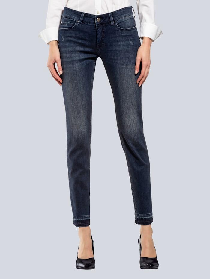 MAC Jeans 'Dream Skinny' mit Fransen am Saum | Alba Moda