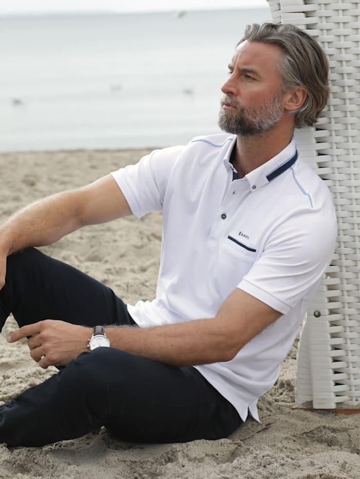 BABISTA Poloshirt mit Brusttasche, Weiß