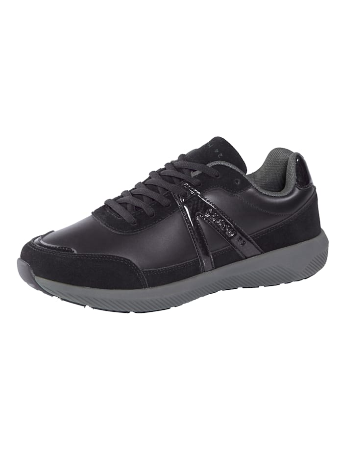 24 Hours Sneakers à semelle intermédiaire 3 couches, Noir