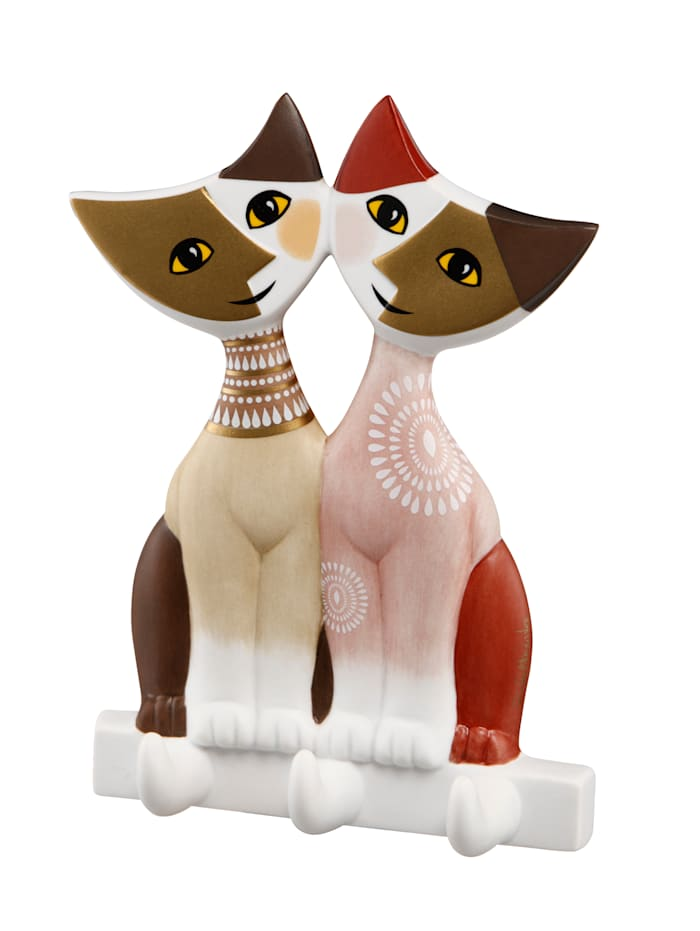 Goebel Couple de chats, Multicolore