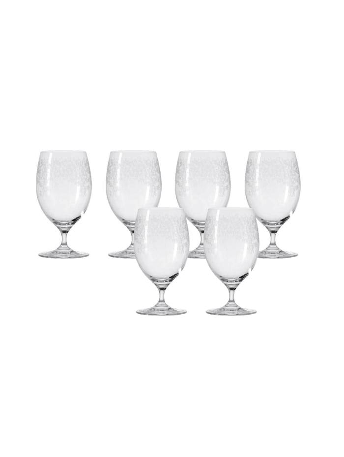 Leonardo Wasserglas 6er-Set Chateau, Transparent