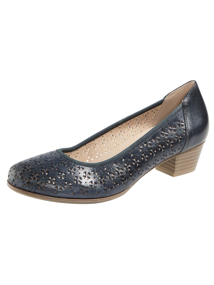 MONA Court shoes with cutout detailing, Blue