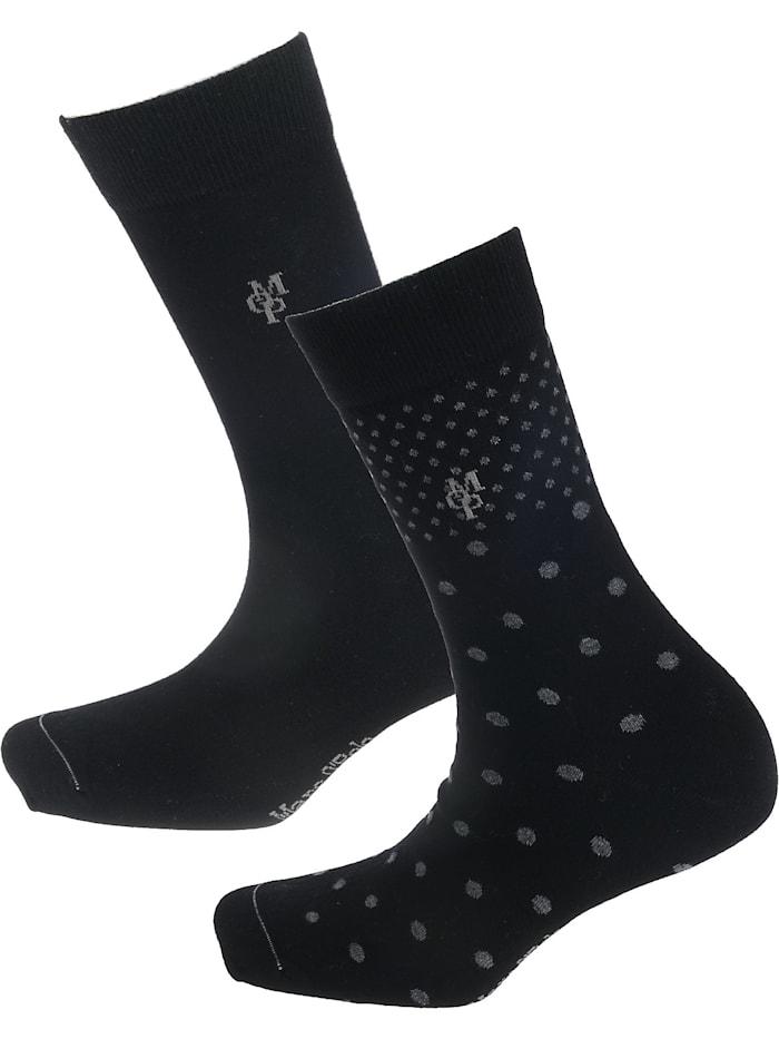 Marc O'Polo Marla 2 Paar Socken, schwarz
