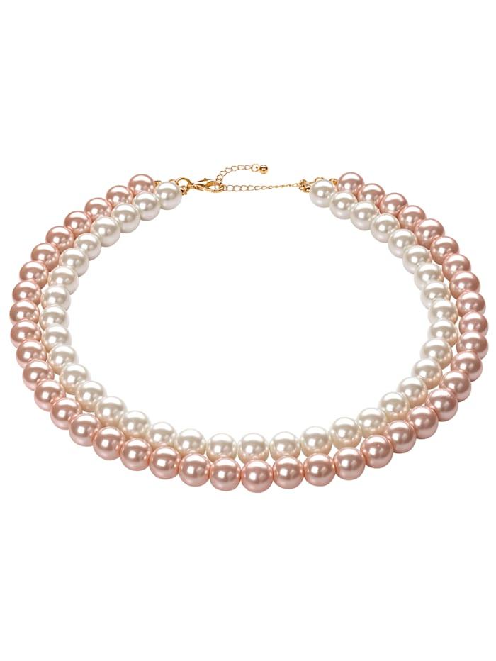 Kjede av imiterte perler, Multicolor