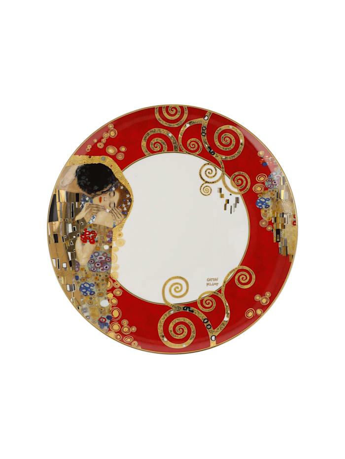 Goebel Teller Gustav Klimt - Der Lebensbaum Rot
